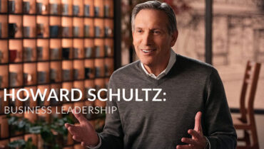 Howard Schultz's Business Leadership Online Course