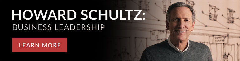 Howard Schultz Leading a Values-Based Business
