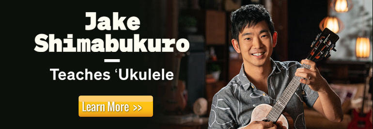 Jake Shimabukuro Teaches Ukulele