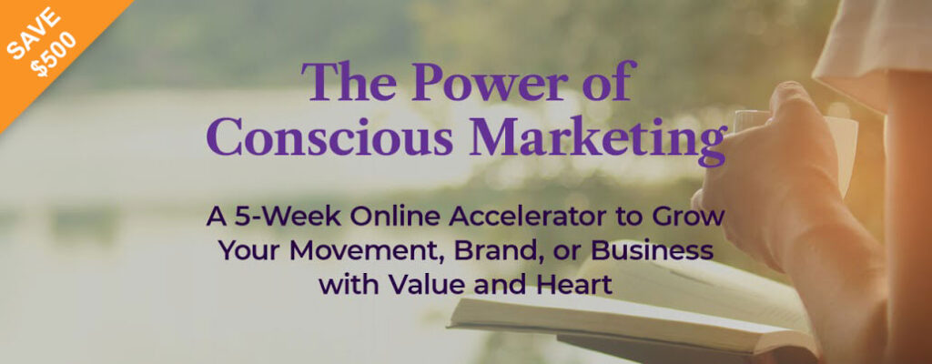 Richard Taubinger's Power of Conscious Marketing