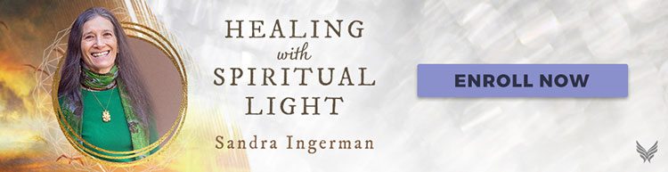 Sandra Ingerman's Healing with Spiritual Light Online Course