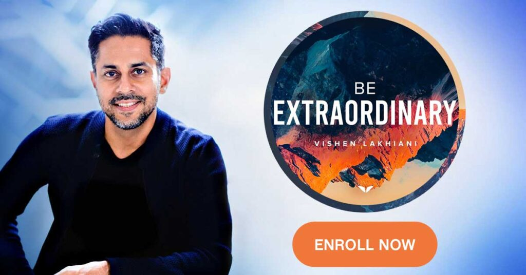 Vishen Lakhiani's Be Extraordinary Online Course